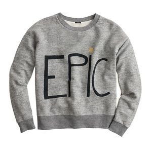 hugo guinness for jcrew epic sweatshirt